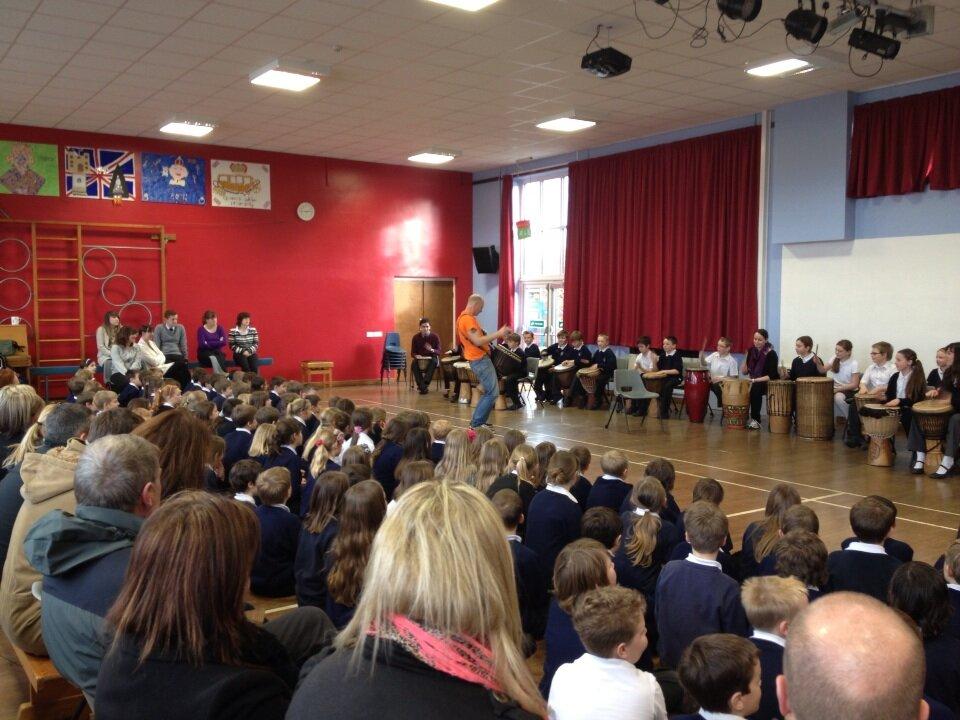 School African Drumming workshops in Lincolnshire