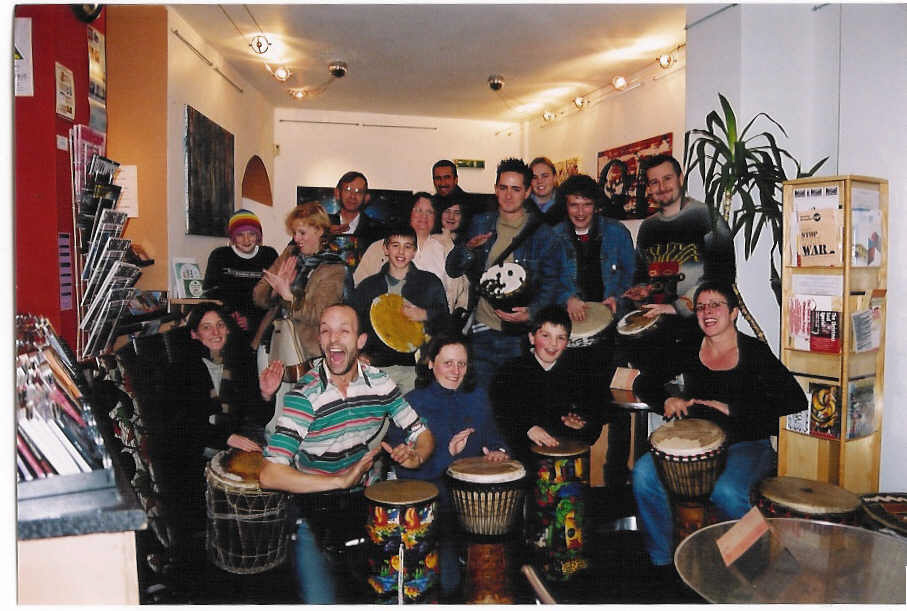 Sheffield African Drumming Class celebrates 20 years
