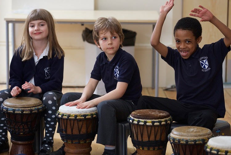 Educational drumming music workshops for primary school, secondary school and college.