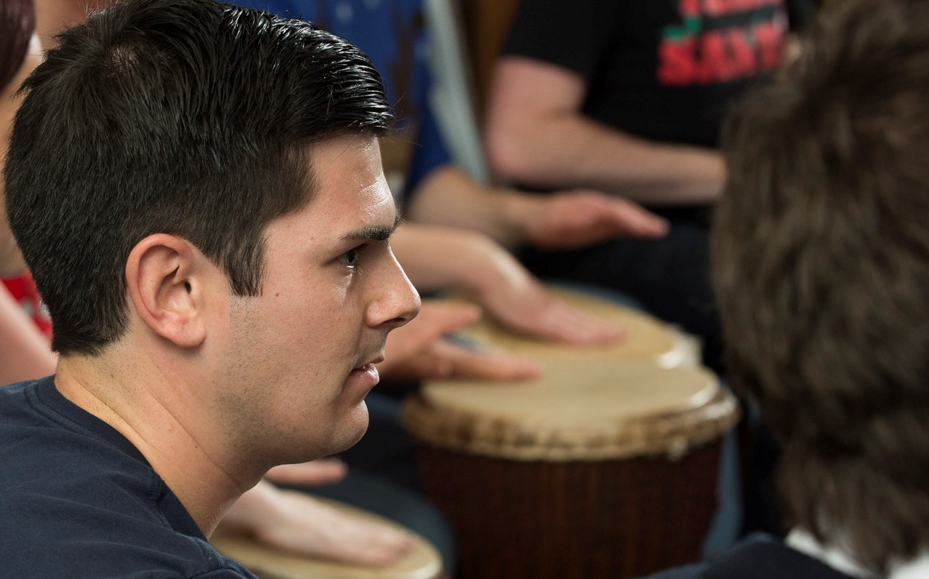 In African drumming classes, some initial time spent listening creates fantastic results. Give it a few minutes and a rhythm can sound completely different to the way you heard it the first time round.