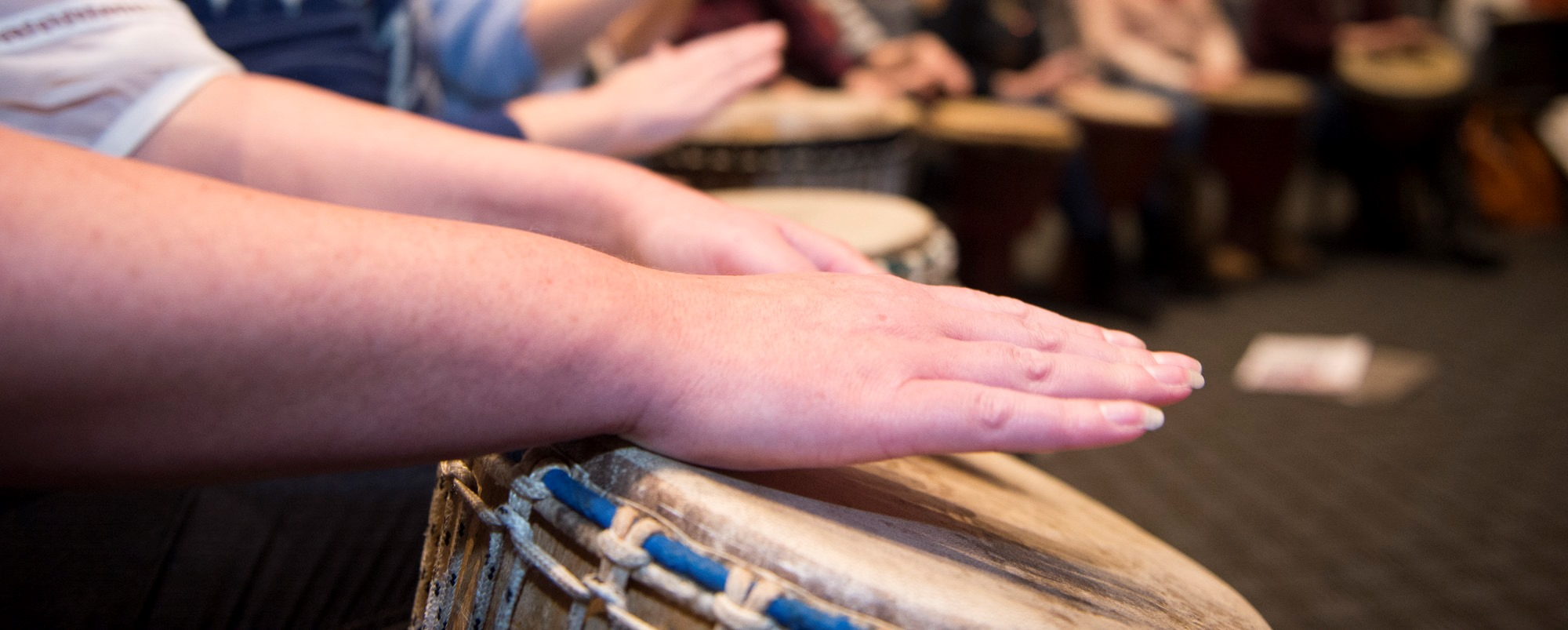 How important is hand coordination when learning African Drumming?