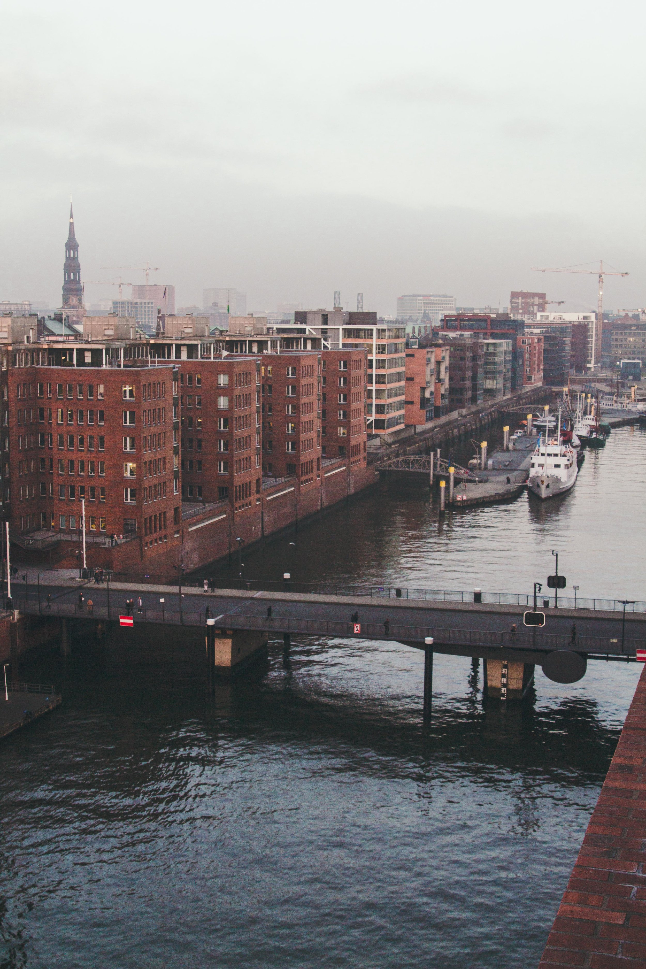 Hamburg was stop number two of the trip.