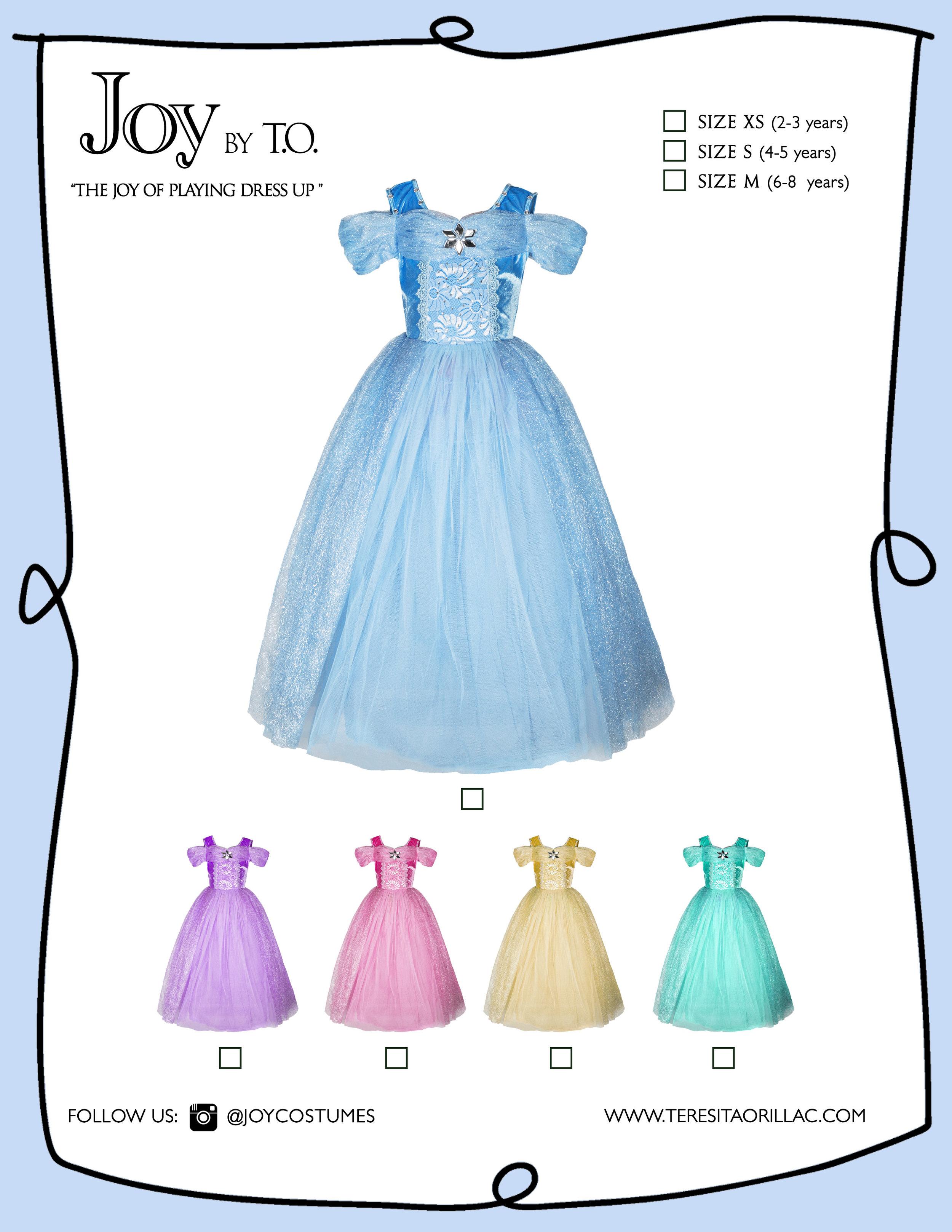 Carton disfraz princess ballgowns all colors.jpg