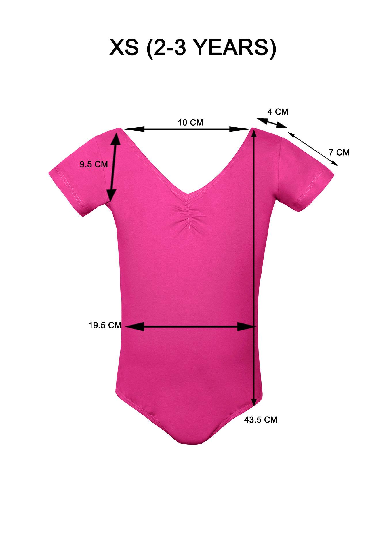 Girls leotard Hot Pink XS.jpg