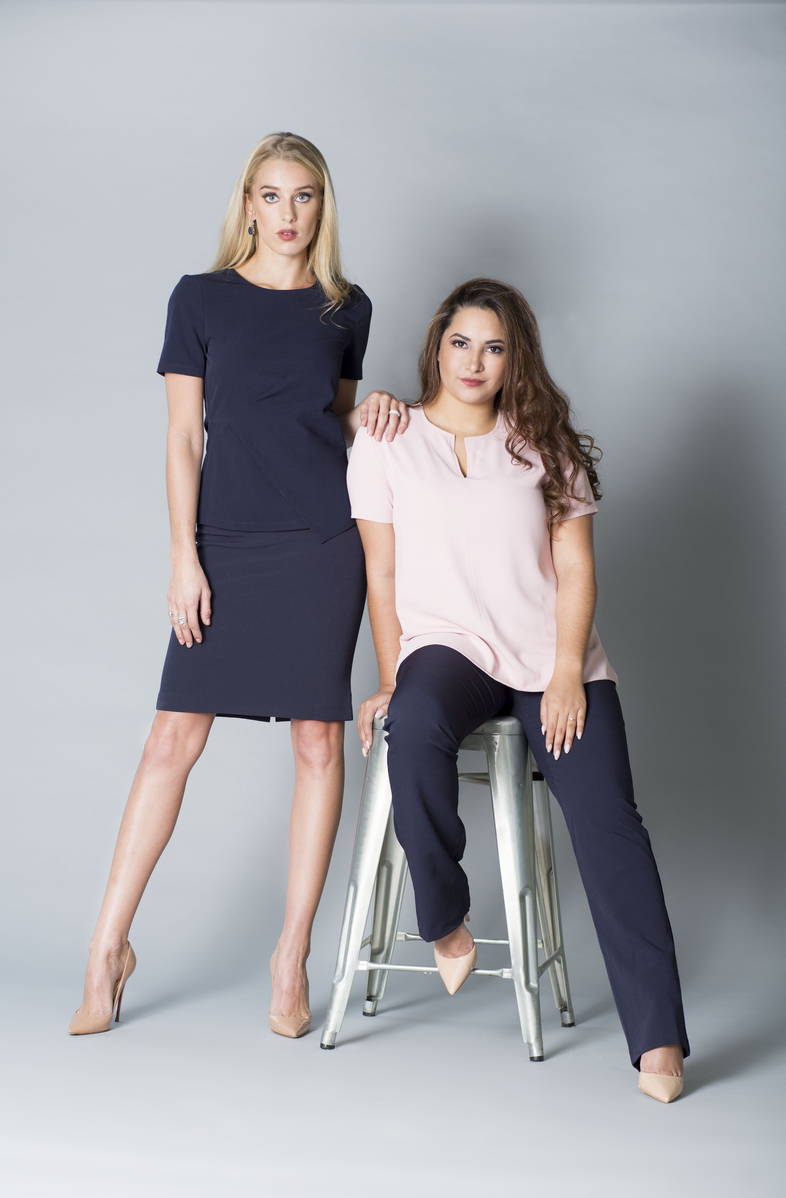 MDSN y JCLN 659 rosa -amelie pant y falda navy copy.jpg