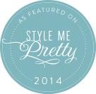 Shindig Bespoke Custom Wedding Invitations featured on Style Me Pretty 2014