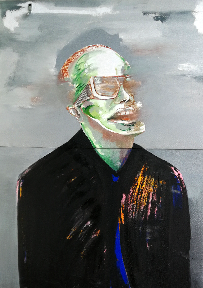 Green Minute / Oil on canvas / 150 x 100 cm / 201