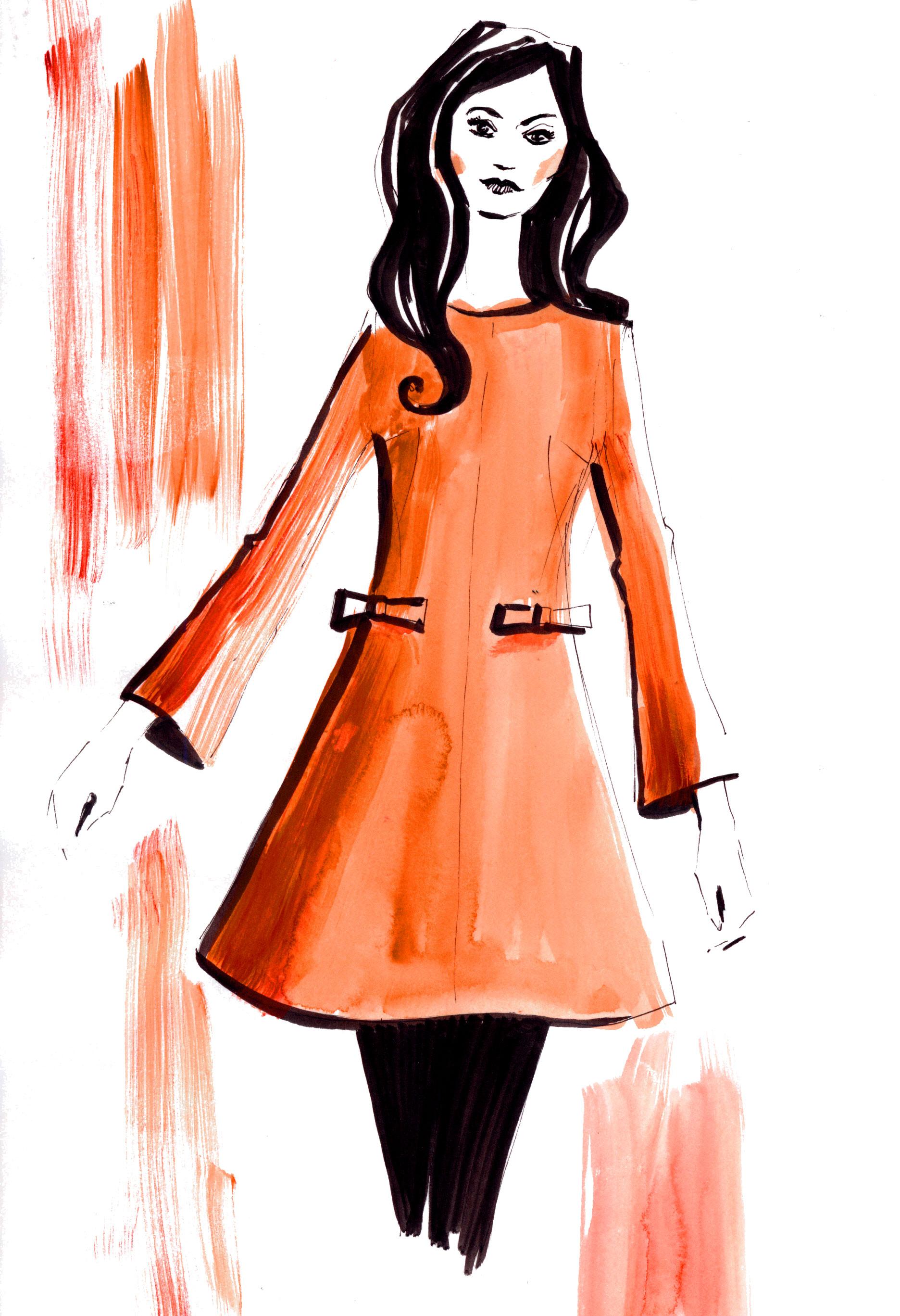 A-Shape dress