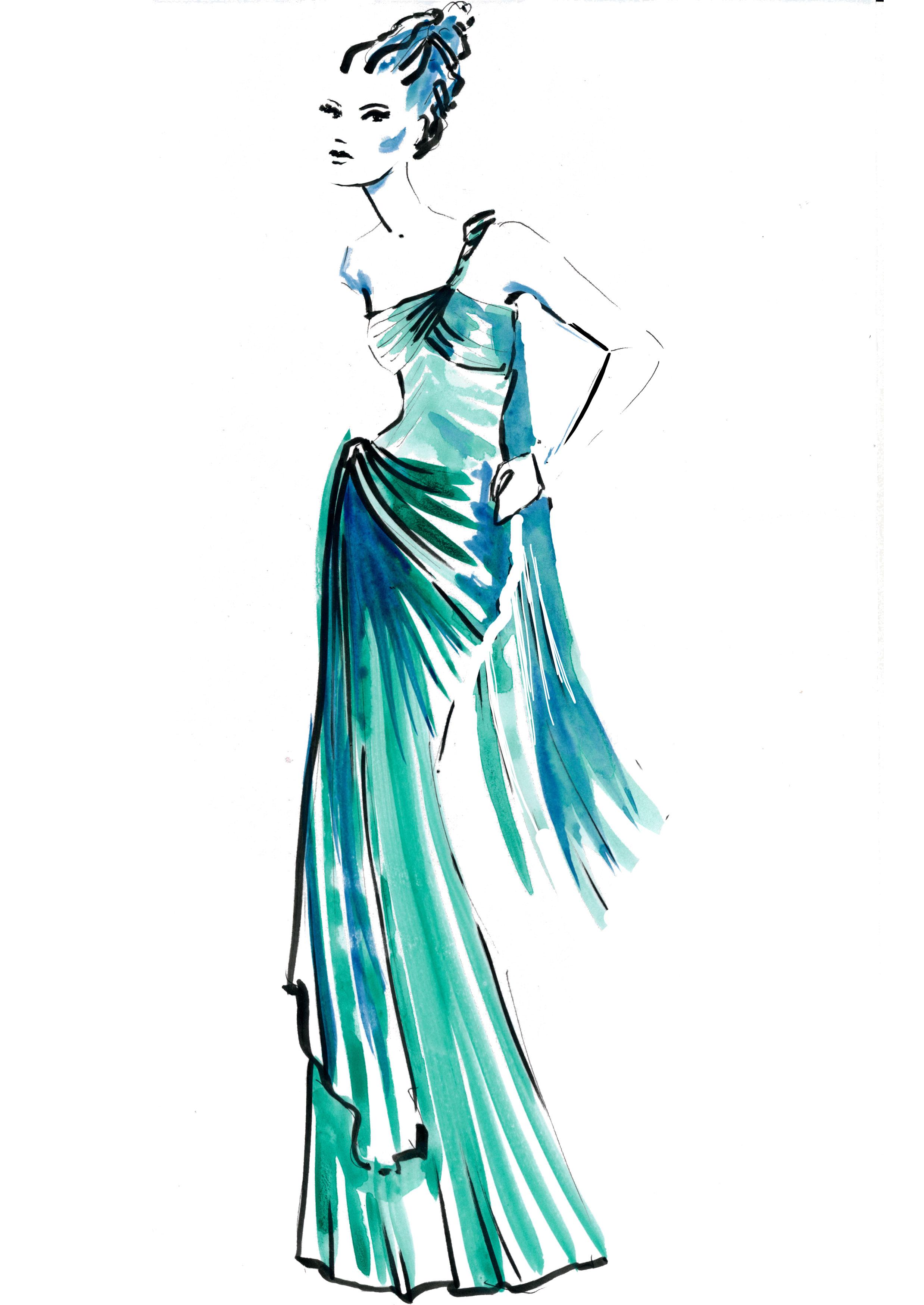 Sculpture dress