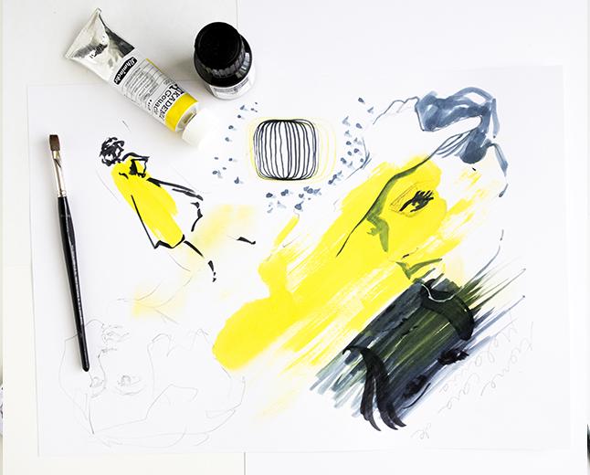 Beauty illustration Virginia Romo