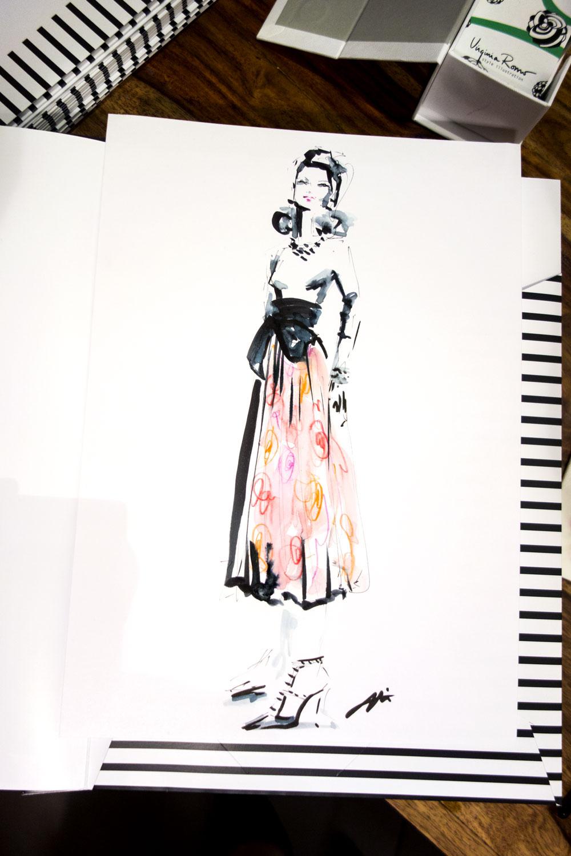 Live sketch event Virginia Romo Illustration