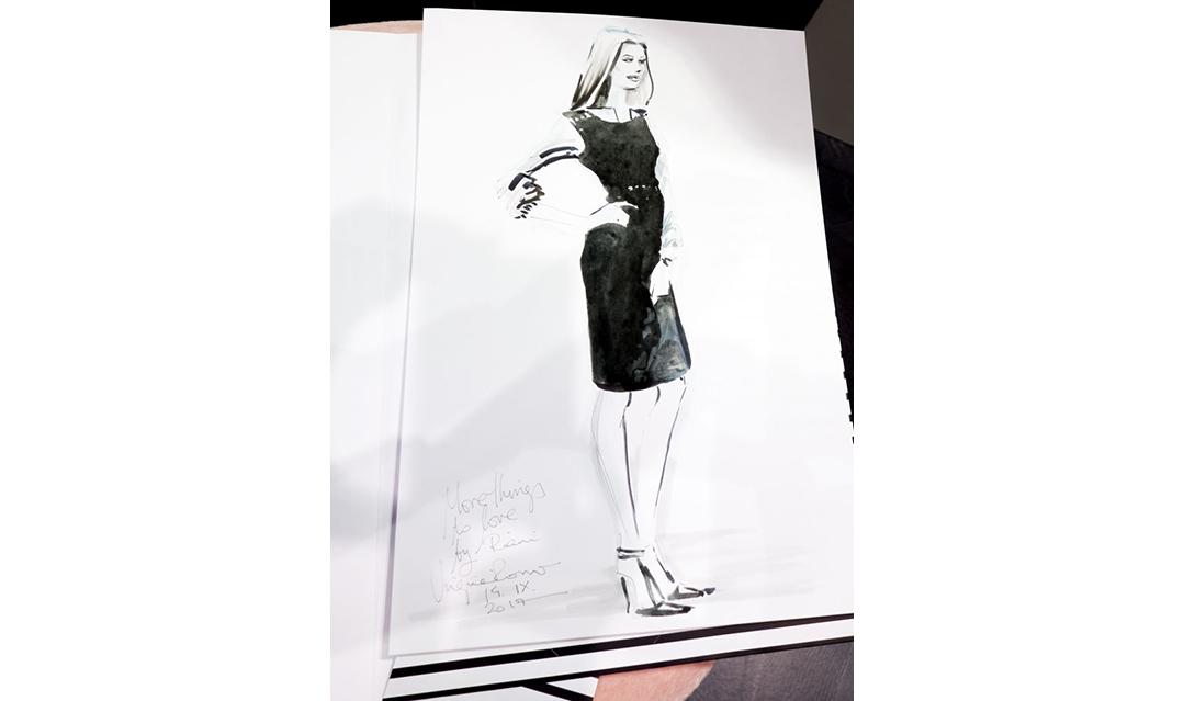 Live Sketches Fashion illustration Virginia Romo Riani Lodenfrey 2
