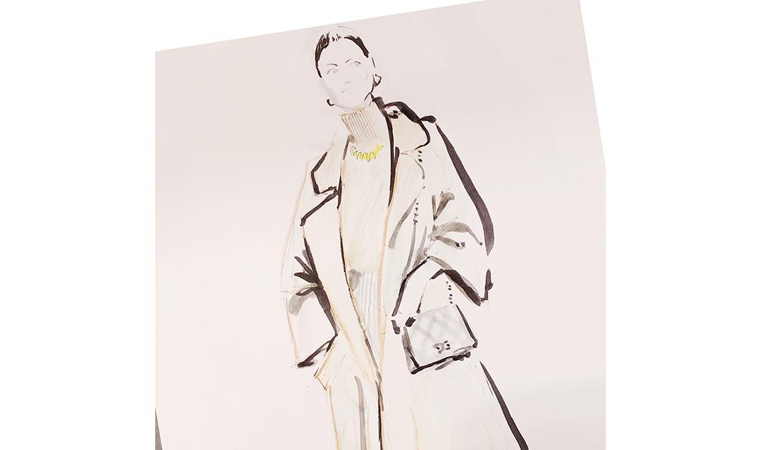 Live Sketches Fashion illustration Virginia Romo Riani Lodenfrey 5
