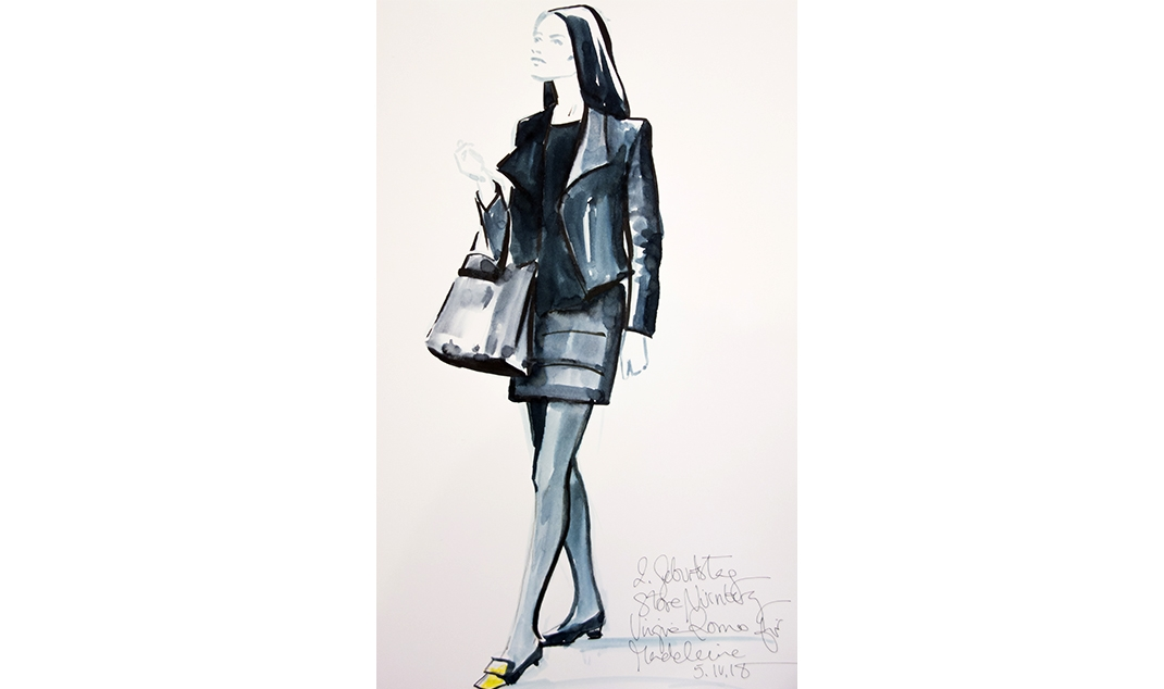Virginia-Romo-fashion-illustration-live-sketches-Madeleine-store-event-12