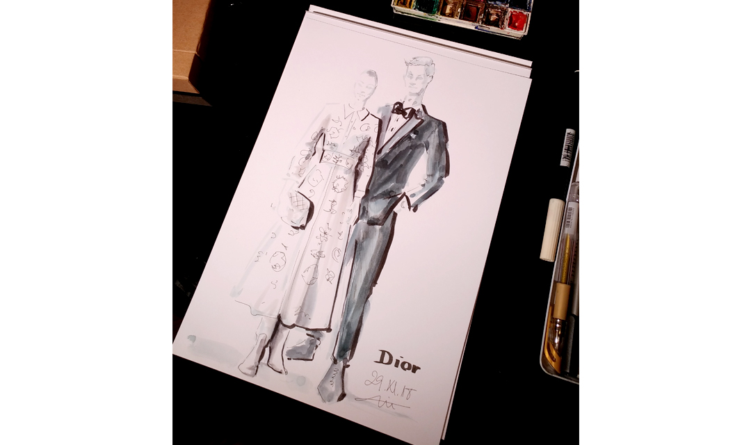 Virginia-Romo-Fashion-Illustration---Dior-VOGUE-Xmas-2018-live-sketching-event-fashiioncarpet.jpg