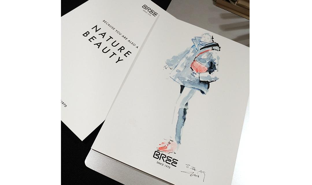 heiß-verkauf freiheit Großbritannien überlegene Materialien Presentation of the Nature Beauty bag by BREE - Live sketch ...
