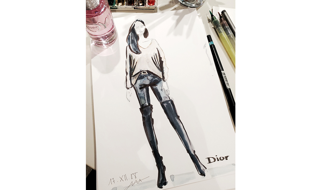 Virginia-Romo-Fashion-Illustration-Dior-JOY-Douglas-aquarell-live-sketches-3.jpg