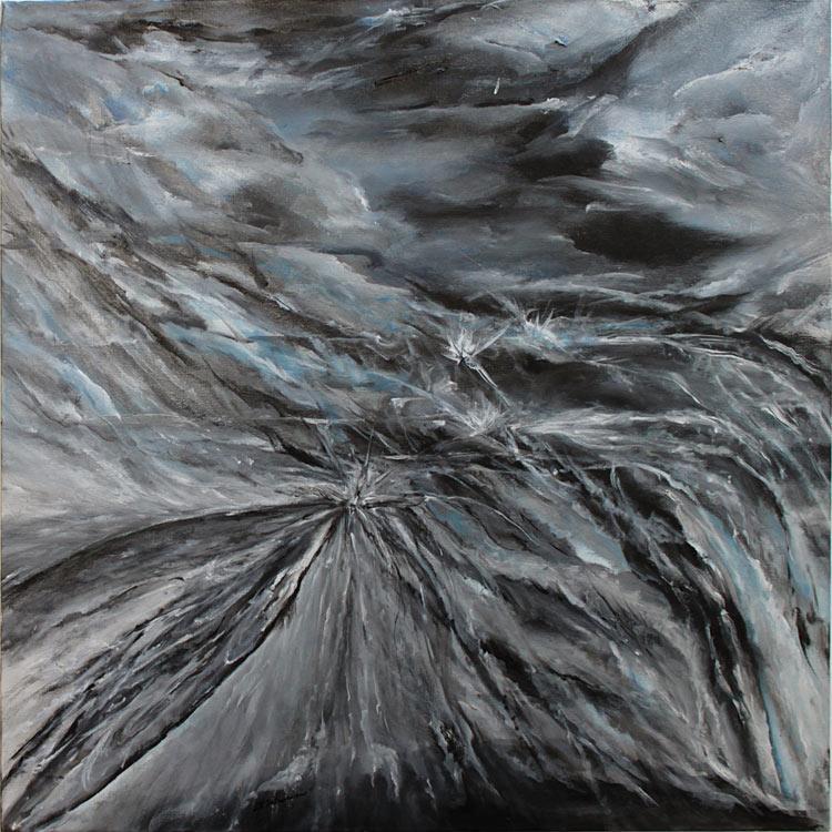"""Impact II, 24"""" x 24"""",2010"""