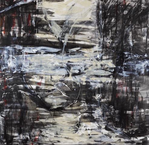 "Linked  Acrylic on canvas, 48""x48"".jpeg"