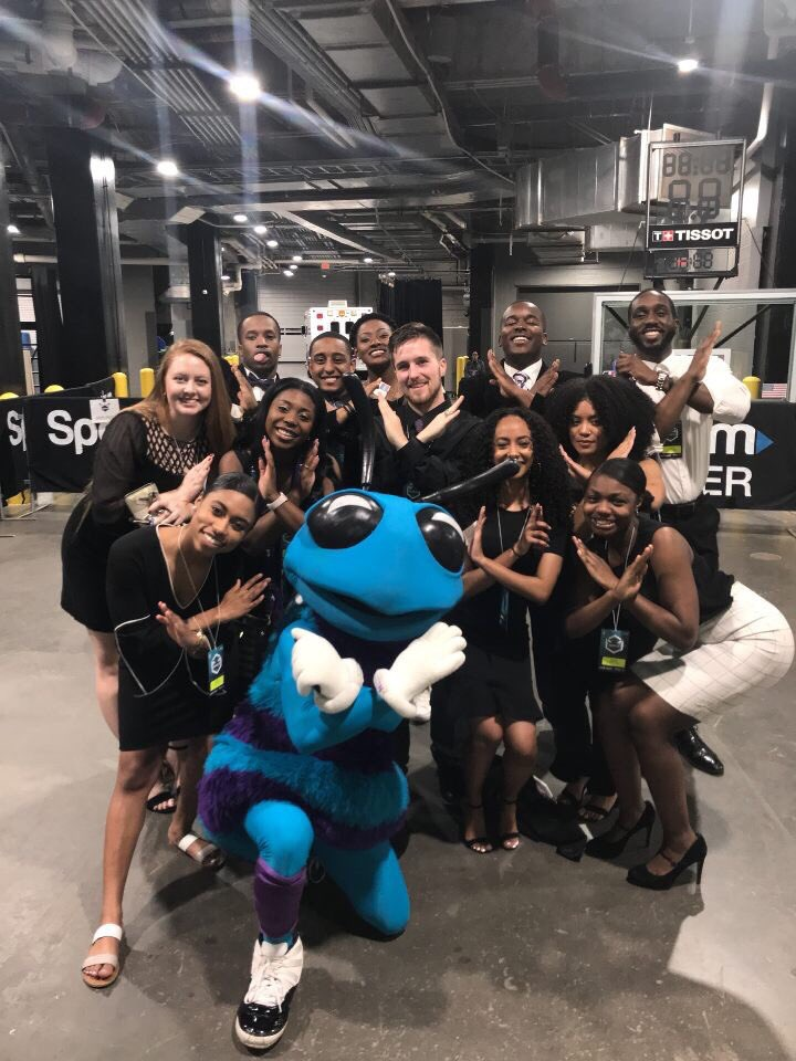 HMX at the Hornets  -