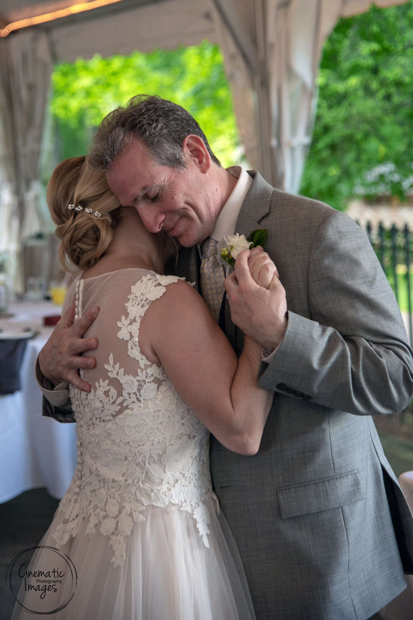 Beautiful First Dance as a Married Couple. - Wedding at the Cabin at Wickham Park