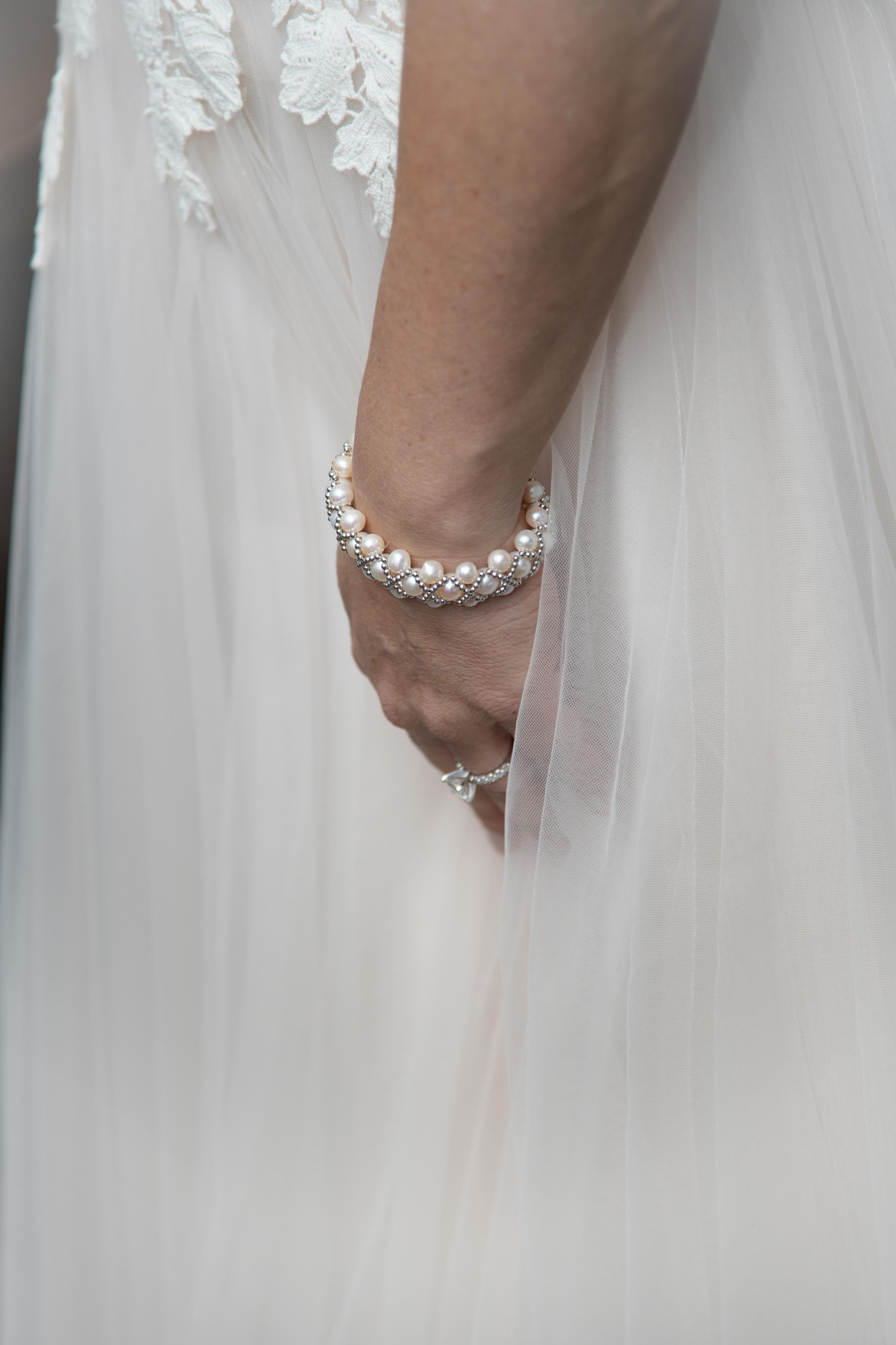 wedding dress- wedding jewelry