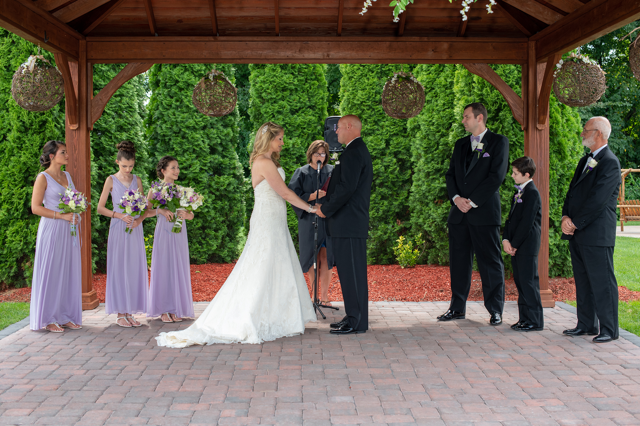 Wedding Ceremony at The Lodge at Maneely's