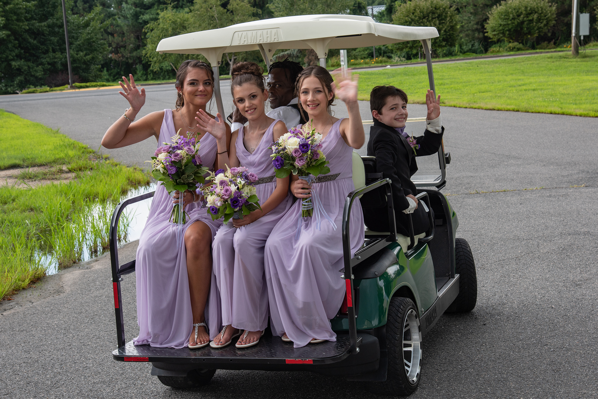 The Maneely's Banquets Golf Cart