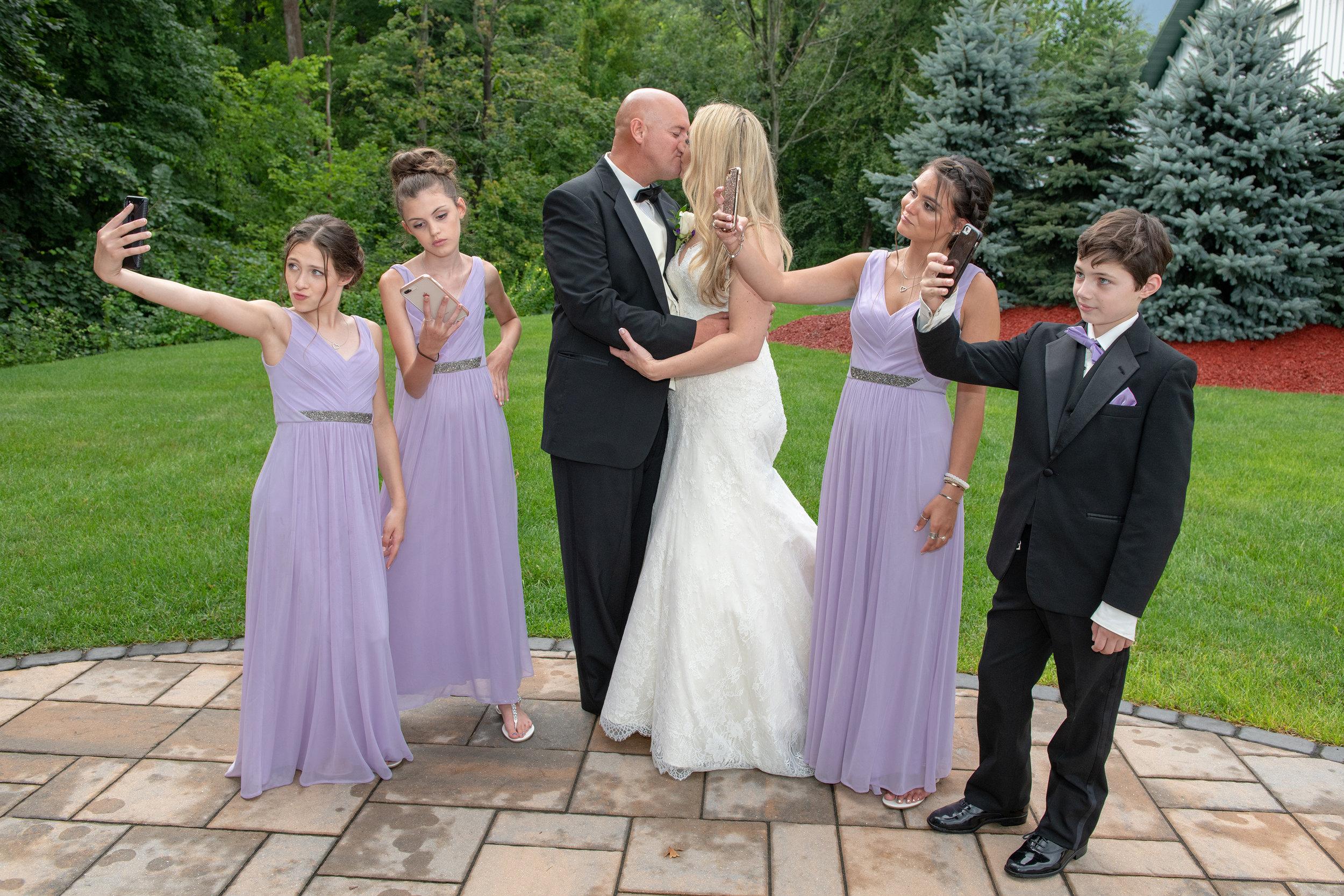 The Selfie Wedding Photo