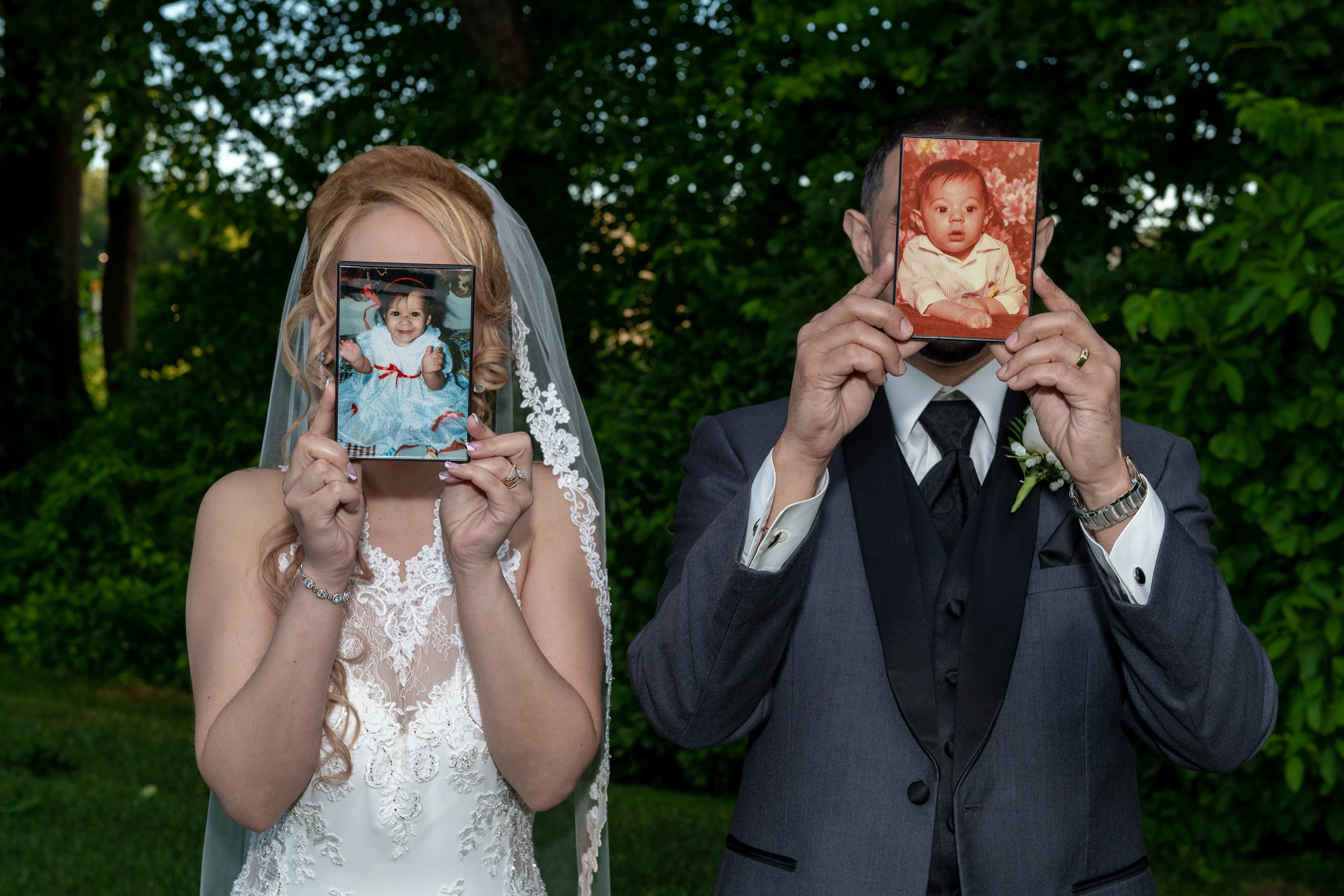 BRIDE AND GROOM WITH THEIR BABY PICTURES.jpg