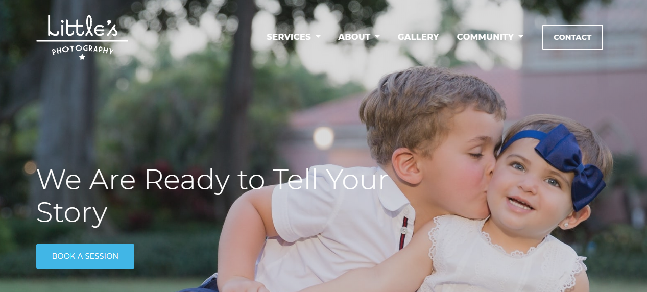 Littles New Homepage