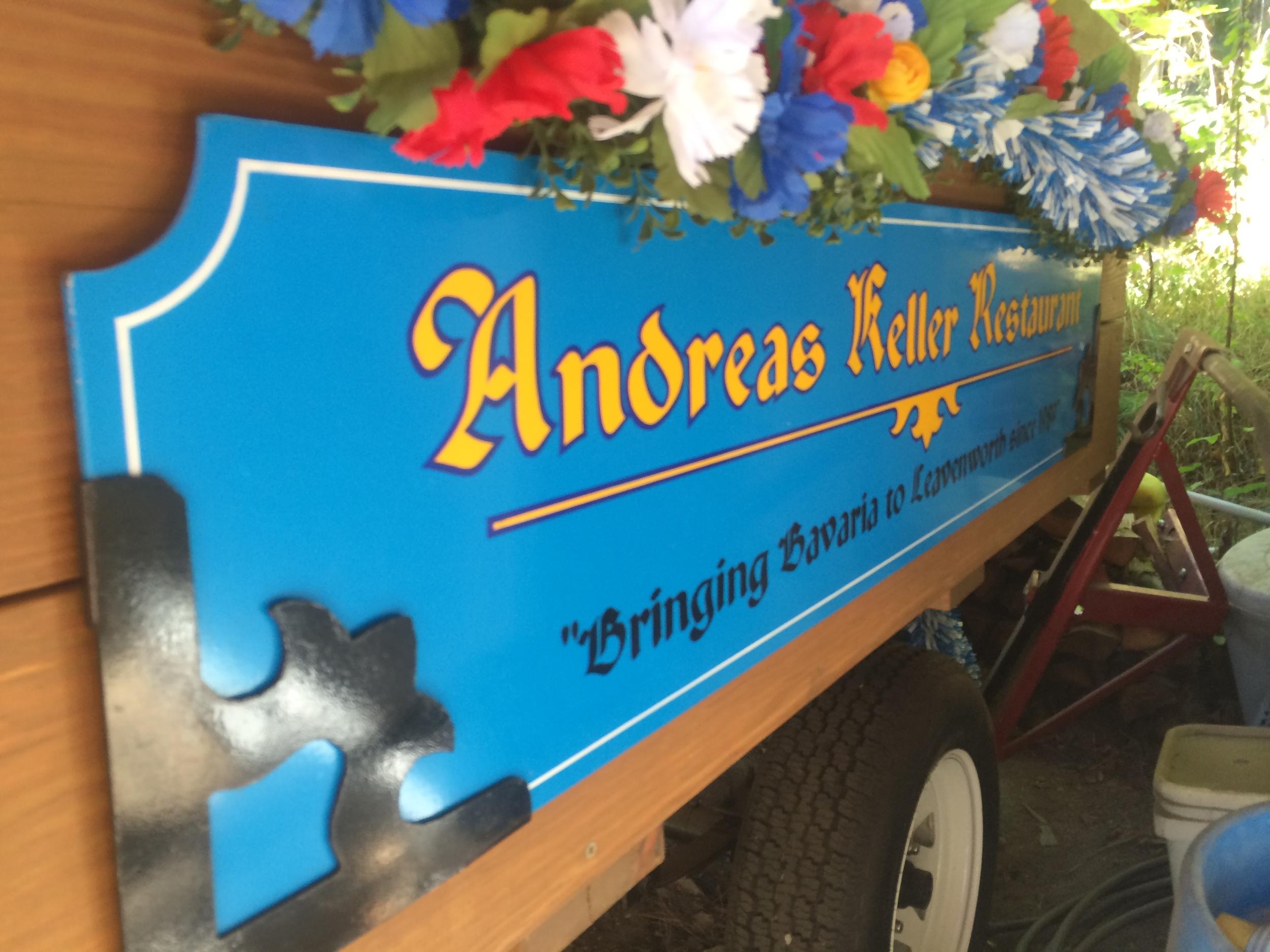 The Andreas Keller Musik Wagon