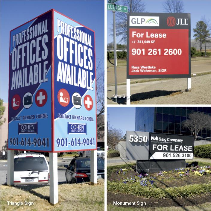 Site Signs; Various locations, photo: Kristen Coles