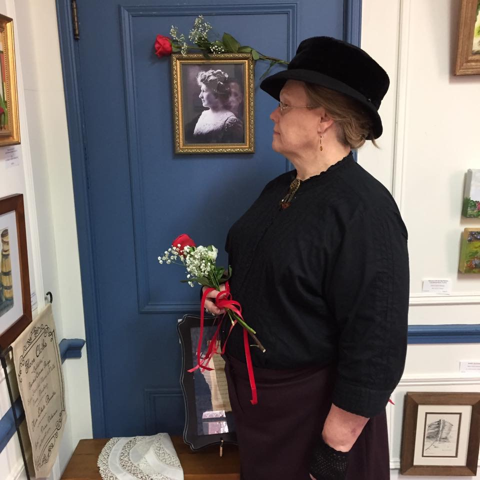 Annie and Annie - Linda Chatfield will be Annie Jump Cannon at her birthday celebration this year. You can feel free to ask her questions about her work.
