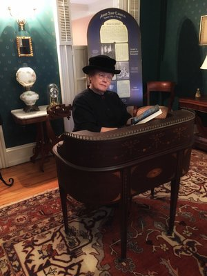 Linda Chatfield will be Annie Jump Cannon at the 2018 birthday celebration at Cannon House.  Annie will also be at the Delaware Historical Society on Saturday, December 8