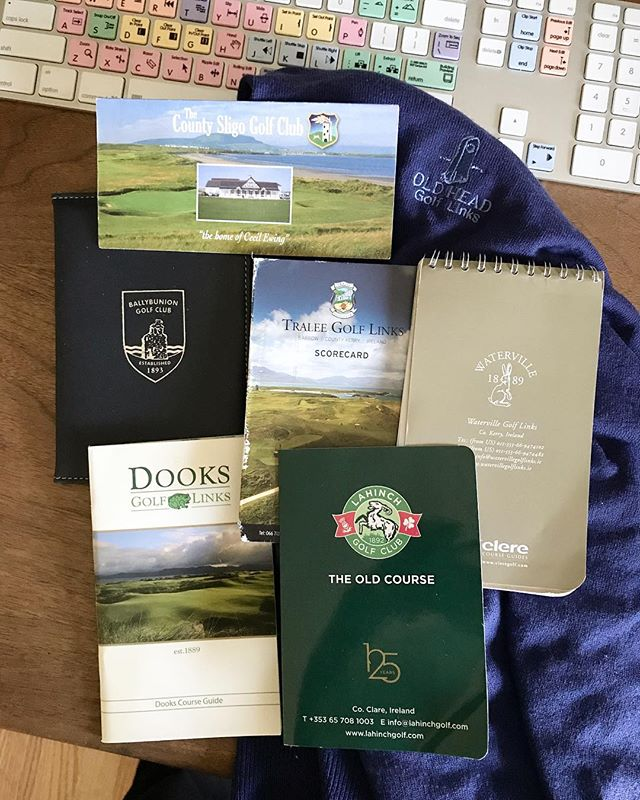 What a trip - the Emerald Isle uncovered some ridiculous golf and left behind some deep memories. #loveireland