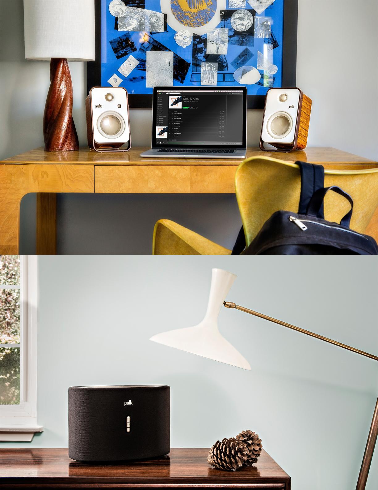 POLK   JANUARY 2018  Denon Speaker Systems.  Product & Branding Photoshoot.
