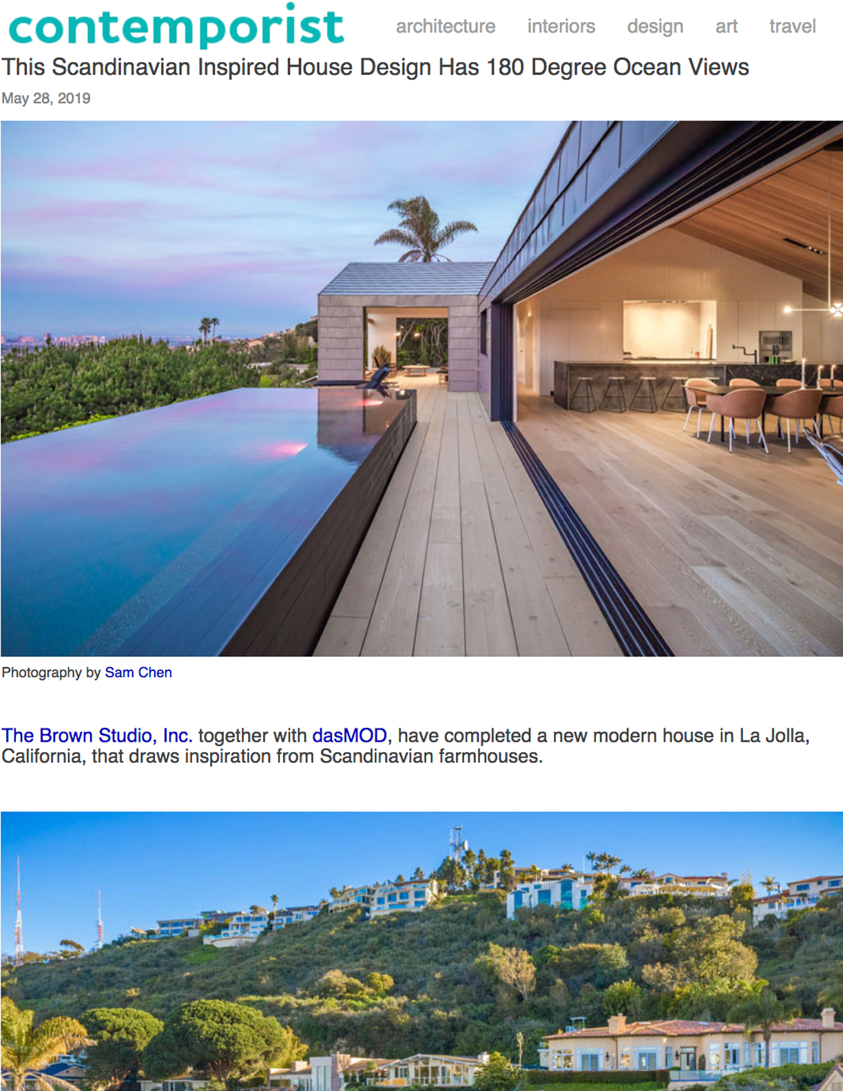 CONTEMPORIST   May 28, 2019  Scandinavian Inspired House Design with 180 Degree Ocean Views.