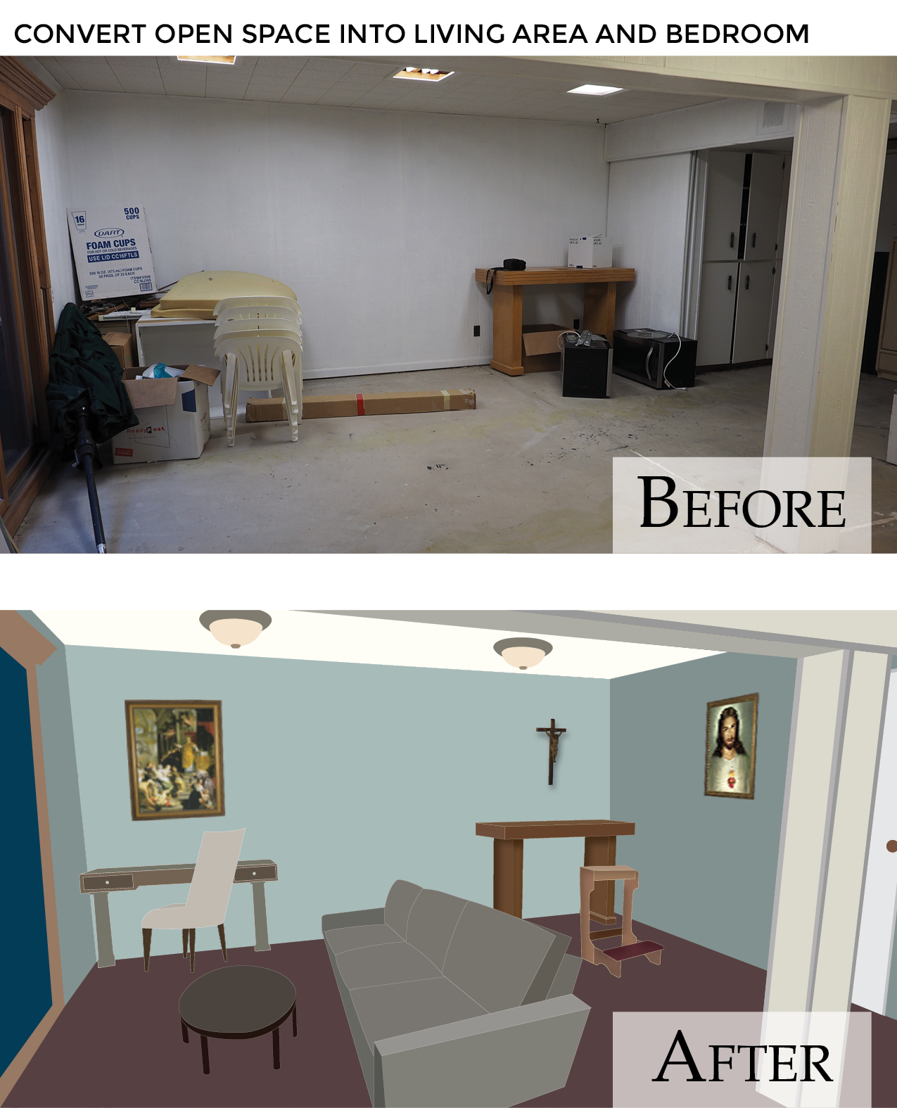 Hermitage Appeal Web - Living area-Bedroom Before & After.jpg