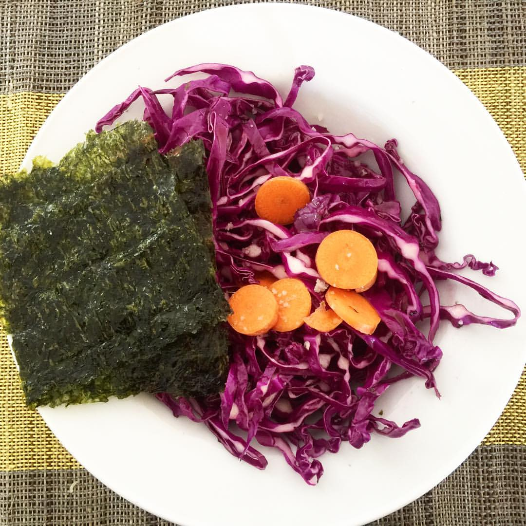 Nori wraps are a super easy way to add more mineral and texture to your meals.