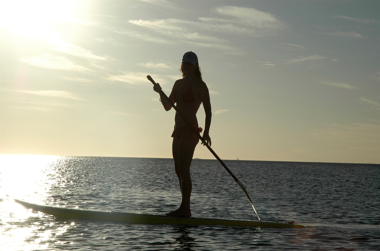 Ultraviolet (UV) Rays, Paddle boarding, and Sunburns.