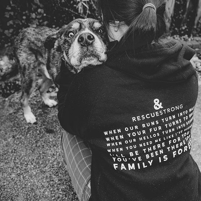 """""""When our runs turn into walks. When your fur turns to white. When our hellos turn into goodbyes. When you need me like I've needed you. I'll be there for you like you've been there for me. Family is forever."""" – @rescuestrongsupplyco #rescuestrong . . . #huffpostgram #dailybarker #hugs  #instagrambham #exklusive_shot #ilovemydog #ruffpost #weeklyfluff #thisisalabama #familyisforever #lifeofadventure #mydogiscutest #sendadogphoto #worldofcutepets #nikonnofilter #dogscorner #buzzfeedanimals #excellent_dogs #bestwoof #nikonlove #topdogphoto #gallery_legit #gramoftheday #vol #aov #visualshotz #ynotoutdoors #thegreatoutdogs #mysouthernliving"""