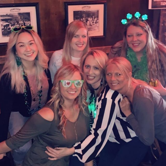girls' night 💜🍀#instagrambham #stpatricksday #🍀
