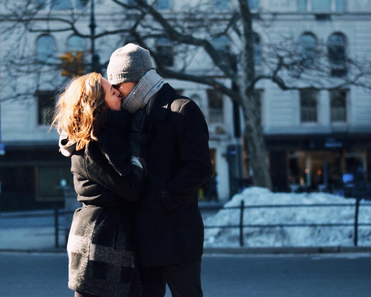 Central Park Kisses
