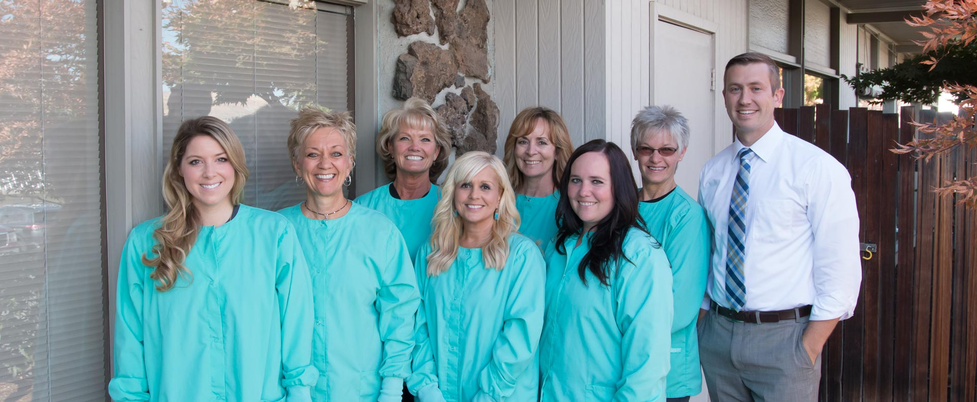 The caring dental team at Family Tree Dentistry in Wenatchee, WA.