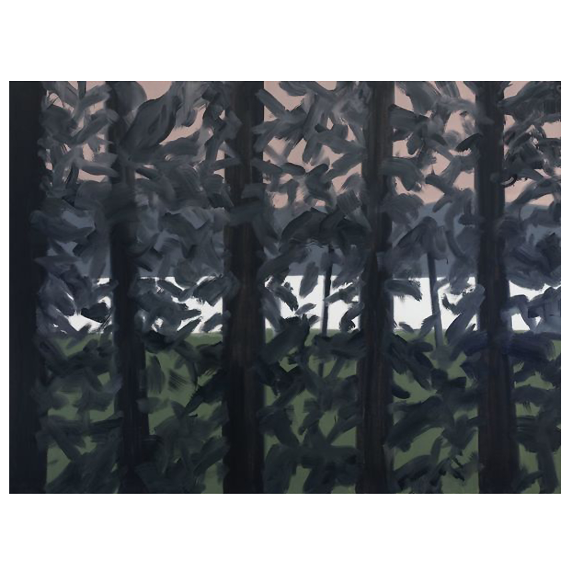 Alex Katz, Untitled (Landscape), 2013. Oil on linen.jpg