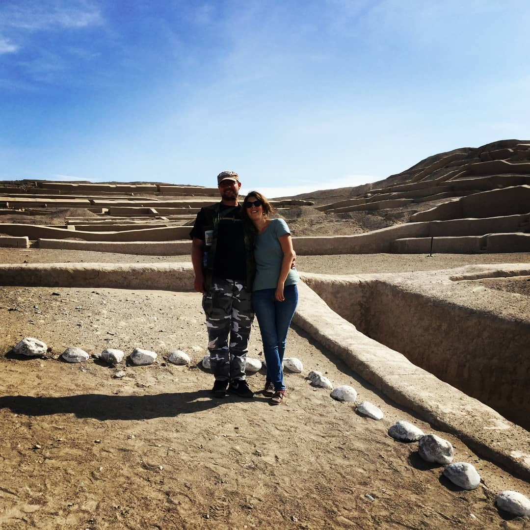 cahuachi ceremonial center of the ancient nazca located 28 kilometres from nasca town