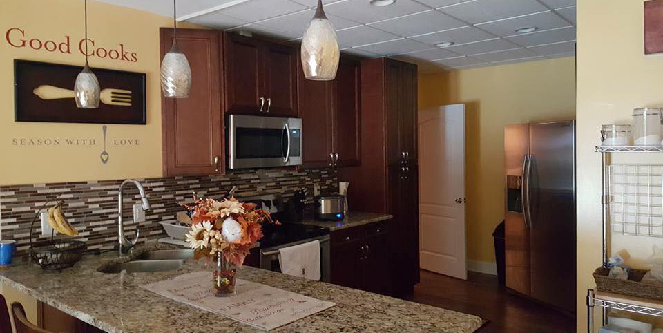 McKinley Mocha kitchen in Pittsboro, NC.