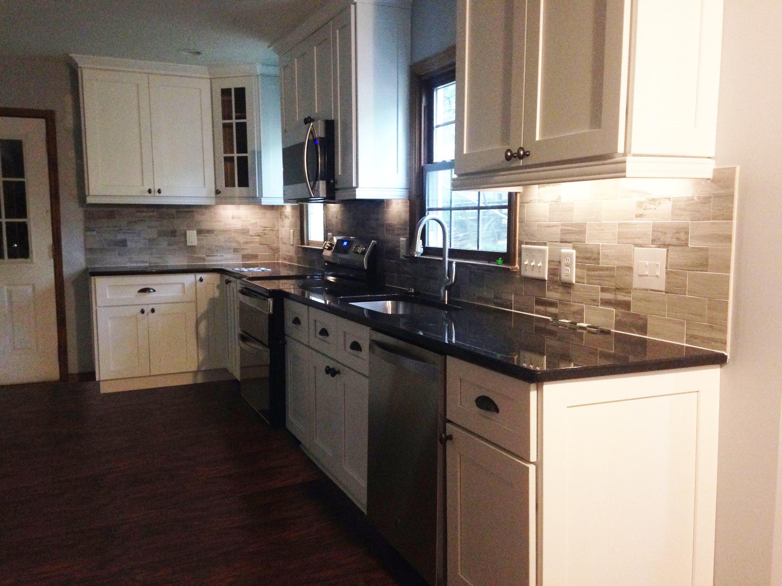 Lennox Shaker White kitchen in Huntersville, NC.
