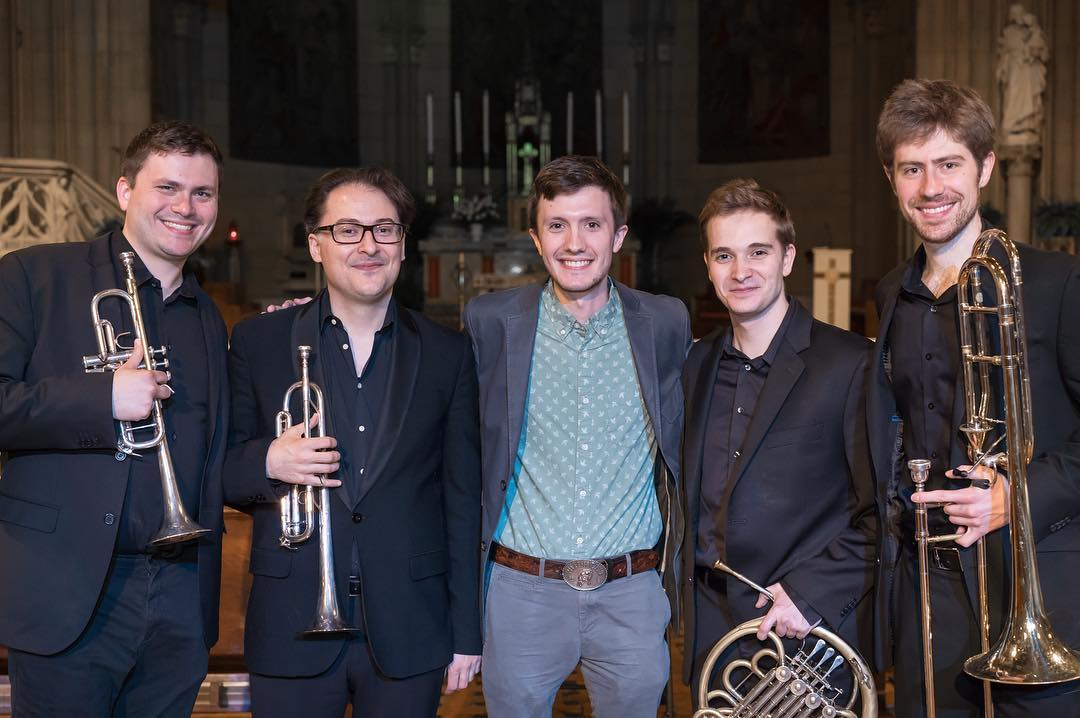 After the World Premieres of composer Nathan Prillaman's works